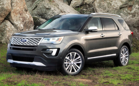 New Ford Explorer 2015