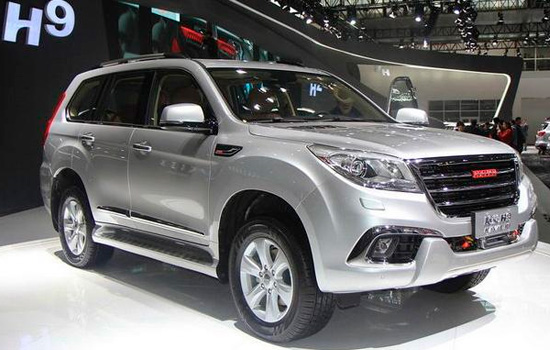 Кроссовер Great Wall Haval H9 в России