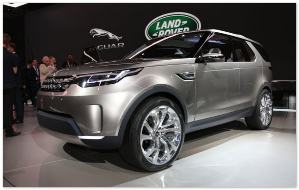 Land Rover Discovery Sport 2016 года